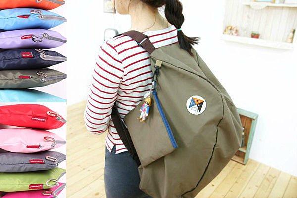 BO雜貨【SV1469】多功能旅行袋 旅行包 收納包 購物袋 單肩包雙肩包 後背包 旅遊旅行收納
