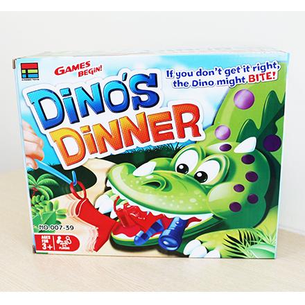 [敵富朗超市]恐龍晚餐遊戲桌遊