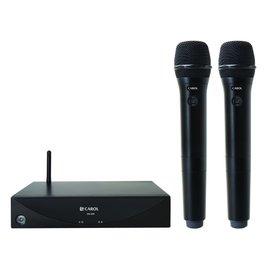 【音橋電子】CAROL 專業型數位無線麥克風 DW-25 優越2.4G技術 抗干擾、省電