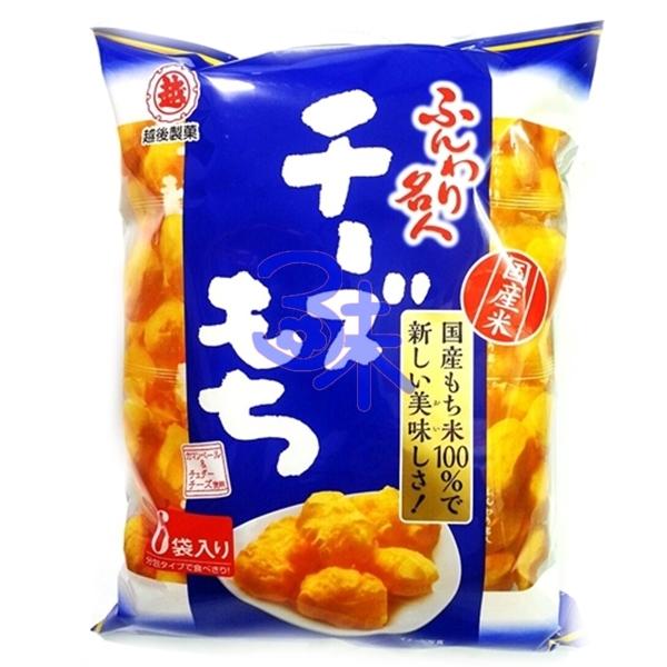 (日本) 越後製菓 麻薯起司泡芙米果 1包 85 公克(6袋入)  特價 100元【4901075010511 】(越後名人起士泡芙米果)