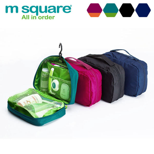 m square 懸掛式沐浴包 化妝包 L號