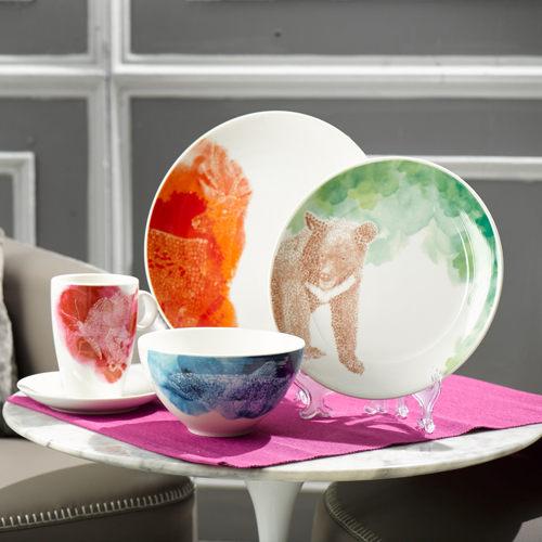 ★贈玻璃水瓶★ WANTZ 享瓷 餐具組 字得其樂系列-渲染套組