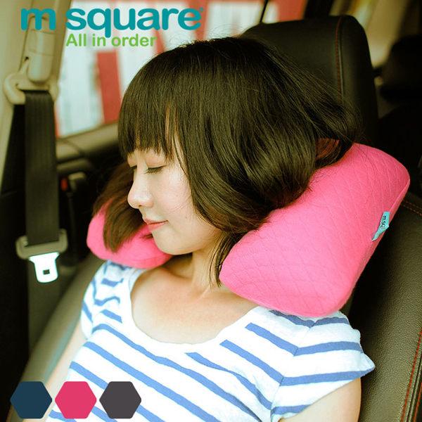 m square 旅行充氣頸枕(可收納)