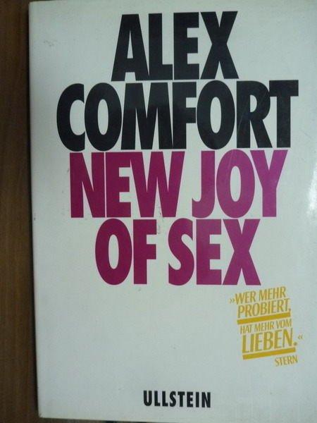 【書寶二手書T2/兩性關係_QFW】Alex Comfort New Joy Of Sex