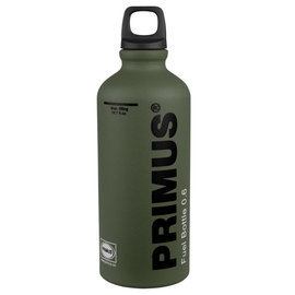 【【蘋果戶外】】Primus 721957 FUEL BOTTLE 燃料瓶 0.6L 鋁合金燃油罐 汽化爐燃料壺 登山 適各種油品 露營野炊 森林綠
