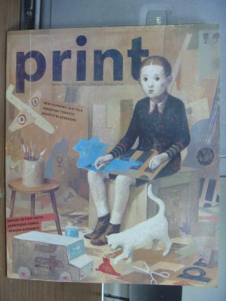 【書寶二手書T1/原文書_PHE】Print_2001/5-6_ANTI-SMOKIN...