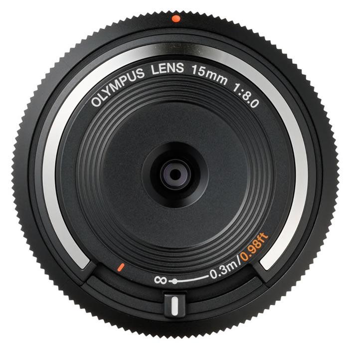【普羅相機】OLYMPUS 15mm F8.0 Fish-eye 魚眼機蓋鏡頭 (黑色)
