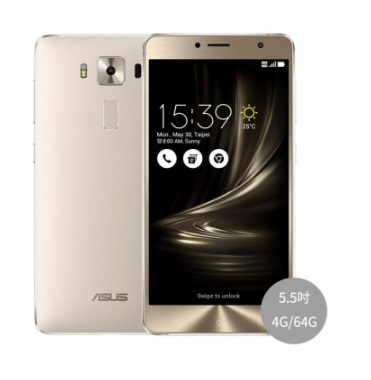 ASUS ZenFone 3 Deluxe ‏ZS550KL 4G/64G 搭配台灣之星4G上網吃到飽月繳$999 手機1元 超優惠