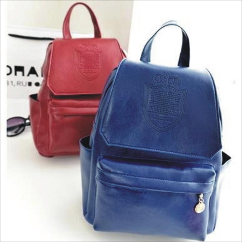 【皇冠旅行包】 韓版流行後背包 學院風旅行包 書包  時尚玩包