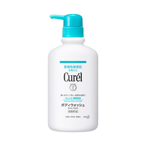 *優惠促銷*Curel潤浸保濕沐浴乳420ml《康是美》