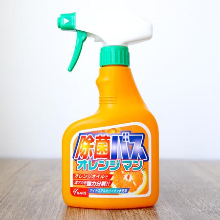 日本友和 Tipos 橘子油浴室清潔噴霧 400mL 廁所 清潔劑【N202146】