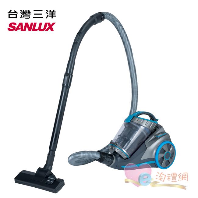淘禮網    SC-202  SANLUX台灣三  HEPA無塵袋真空旋風吸塵器