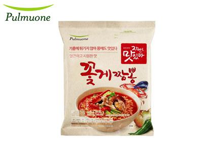 Pulmuone 螃蟹炒瑪蒸煮麵(4包/袋)