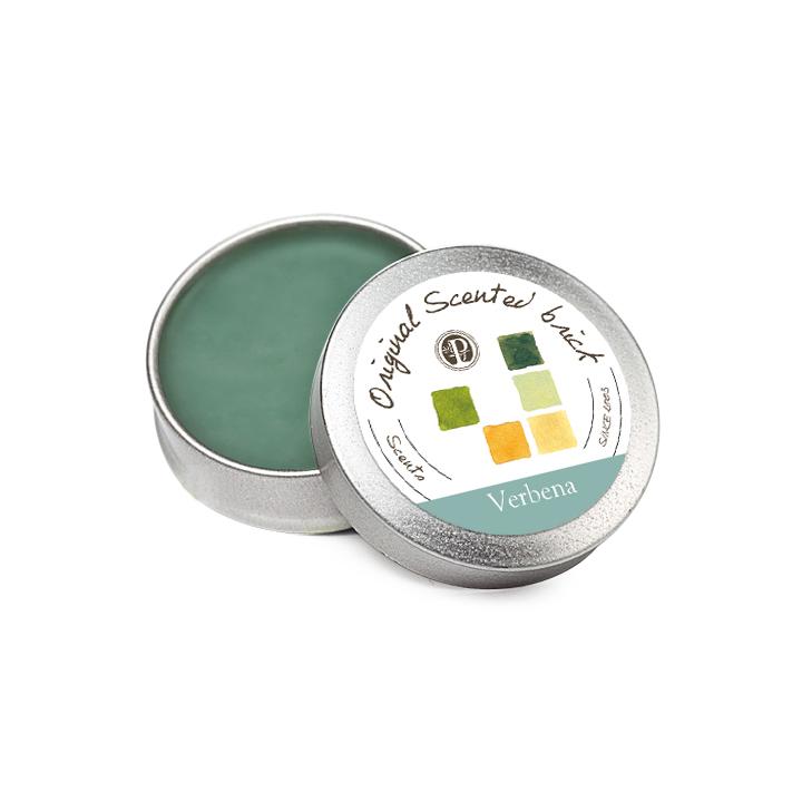 【OP 窩居小徑】Eucalyptus 馬鞭草園 精油芳塊香磚-12±2g 隨身盒,純手工製作