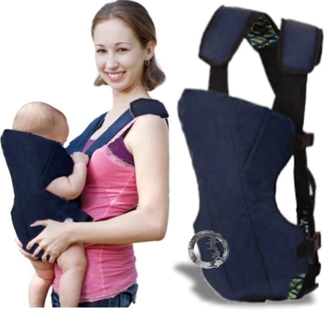 童衣圓【H072】H72簡易背巾 軟綿 雙肩 減壓 前背 後揹 護頭 護脊 袋鼠 可調整 揹帶 墊肩 X型背法 輕鬆上手