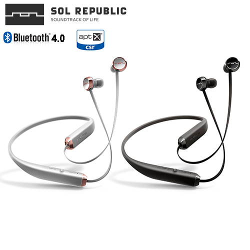 美國 SOL REPUBLIC Shadow 時尚環頸設計,無線藍牙4.0入耳式耳機