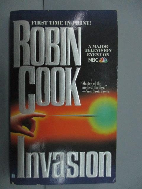 【書寶二手書T1/原文小說_MDM】Lnvasion_Robin Cook