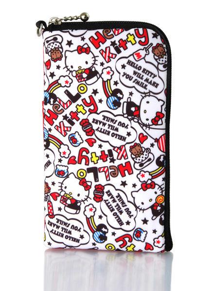 [NOVA成功3C] Hello Kitty SKS-310 仕女型多層式手機袋KT-多彩L  喔!看呢來