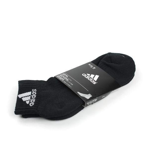adidas Sport 舒適 好穿 柔軟 棉 襪 黑 noB33