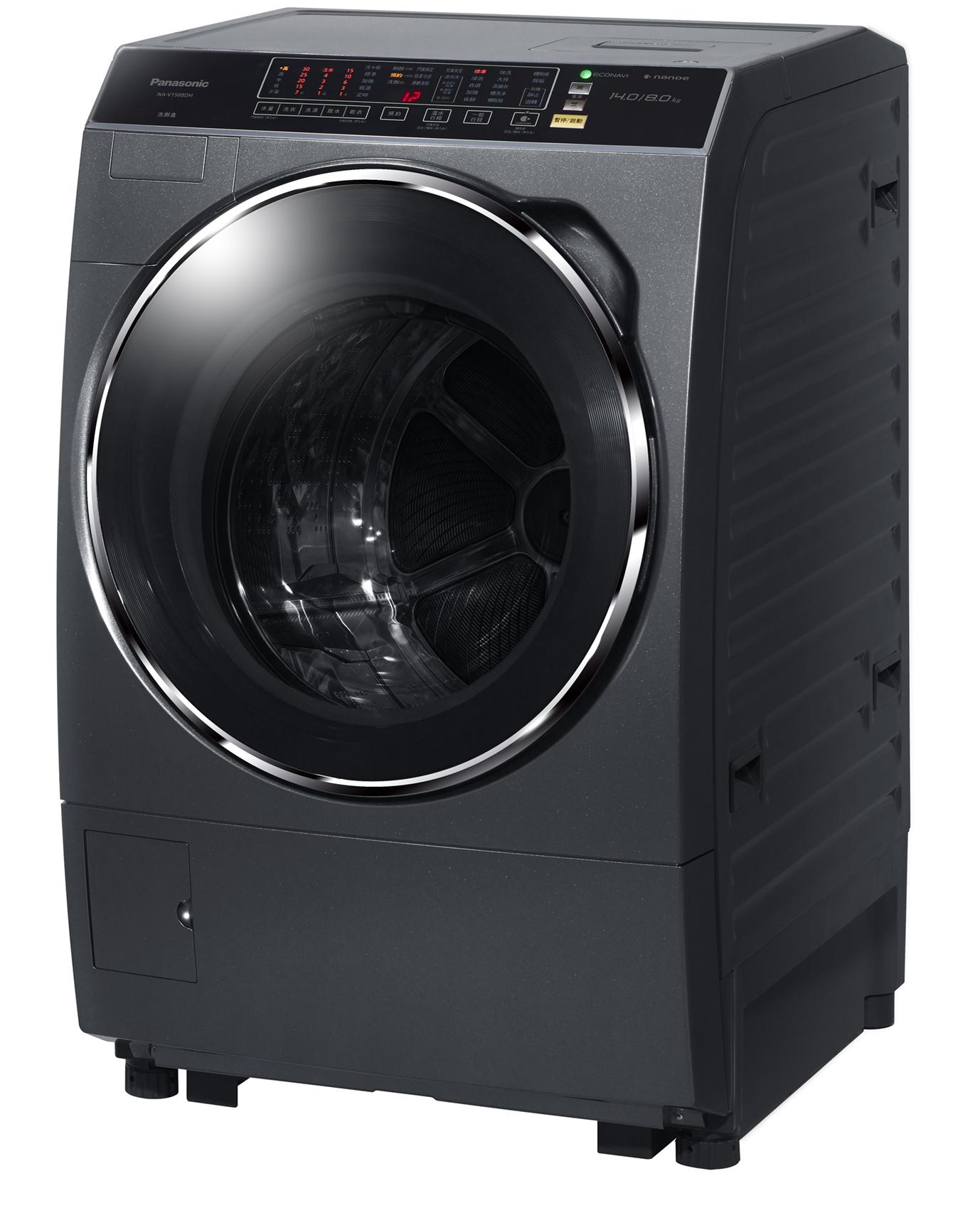 Panasonic 國際牌 NA-V130DDH-G 洗脫烘滾筒式洗衣機(13KG) ★指定區域配送安裝★