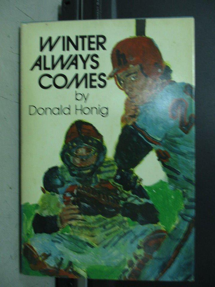 【書寶二手書T6/原文小說_LDG】Winter always comes_Donald honig