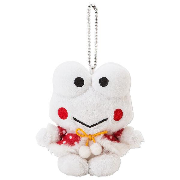 大眼蛙聖誕娃娃玩偶吊飾聖誕裝坐姿122723海渡