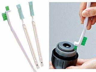 日本製象印膳魔師專用飲口吸管刷清潔刷熱門480789海渡