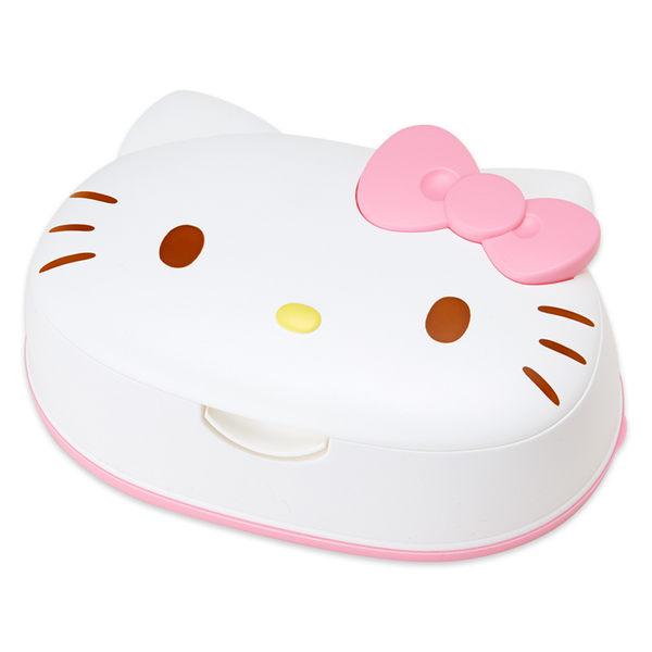 日本製熱賣熱銷!HELLO KITTY濕紙巾盒玻尿酸保濕成分NEW482302現貨海渡