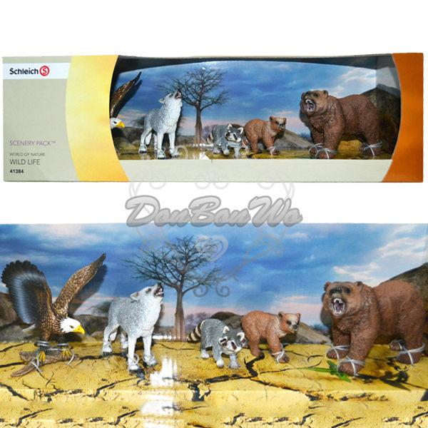 Schleichs動物家族公仔模型哺乳動物老鷹413849海渡