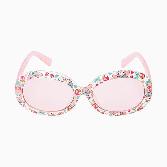 美樂蒂兒童太陽眼鏡抗UV墨鏡草莓櫻桃884591海渡