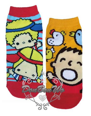 大寶PATTY&JIMMY短襪襪子女襪保暖綿質大圖576706/576652海渡