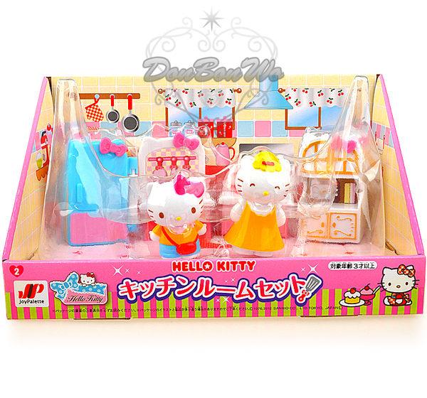 Kitty兒童模型玩具組家族廚房214852海渡