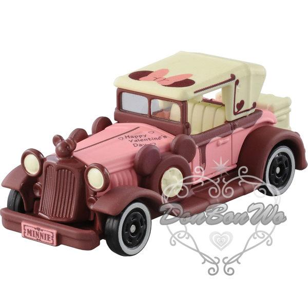 多美TOMY迪士尼米妮玩具車模型巧克力老爺車806486海渡