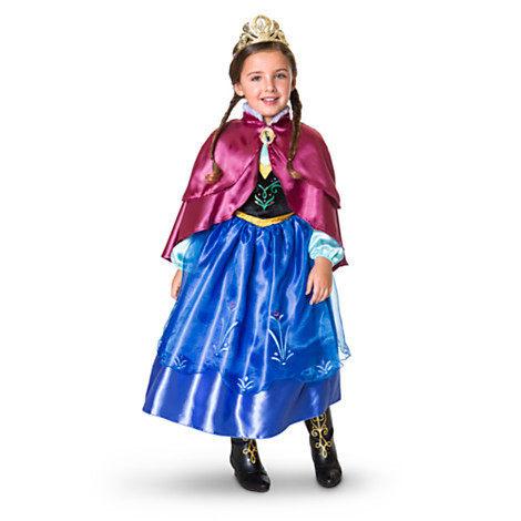 冰雪奇緣公主安娜禮服洋裝萬聖節聖誕節美國版代購030367代購海渡