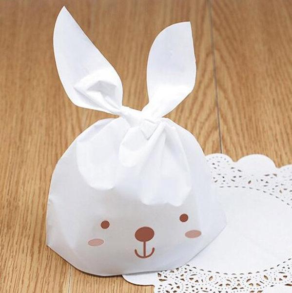 小兔子西點袋餅乾袋糖果袋10入032227代購海渡