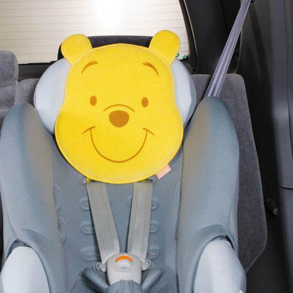 迪士尼NAPOLEX維尼熊汽車安全座椅靠枕枕頭 PH-78代購海渡