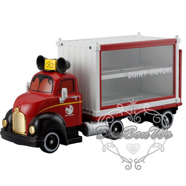 多美TOMY迪士尼玩具車模型收納盒收藏盒貨車造型821465海渡