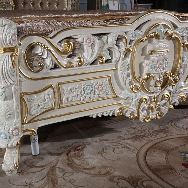 巴洛克歐式公主床架公主床訂製122950代購海渡