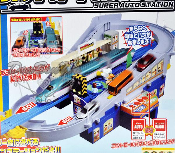 TOMICA車車軌道超級自動車站組493913海渡