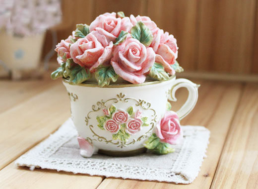 farm house玫瑰公主首飾盒珠寶盒韓國飾品062150代購海渡