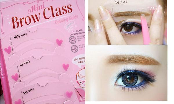 韓國熱銷畫眉神器輔助器畫眉卡 一次3片批發價062917海渡