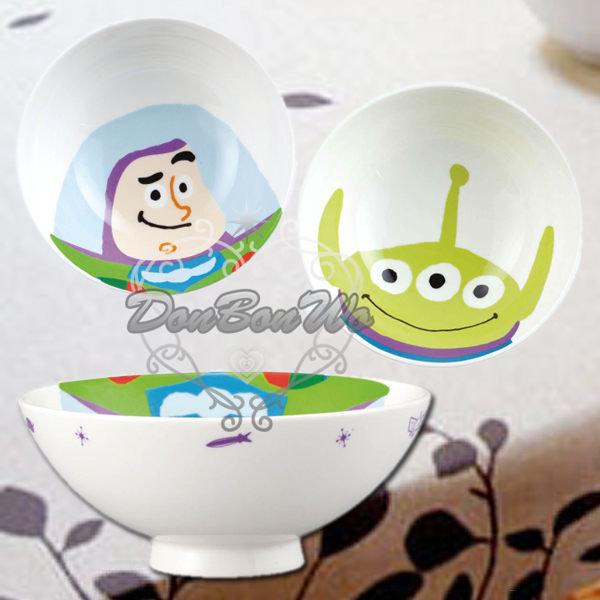 迪士尼玩具總動員陶瓷碗飯碗大臉巴斯232735三眼232742海渡