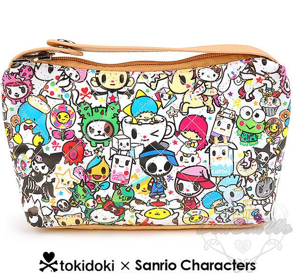 海外限定Tokidoki x sanrio手提包化妝包收納包173692海渡