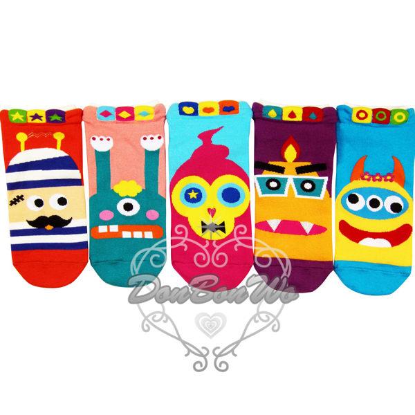 韓國VIVID COLOR襪子短襪可愛怪物022404海渡