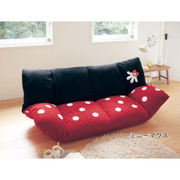 迪士尼米奇米妮懶人沙發日本製代購海渡