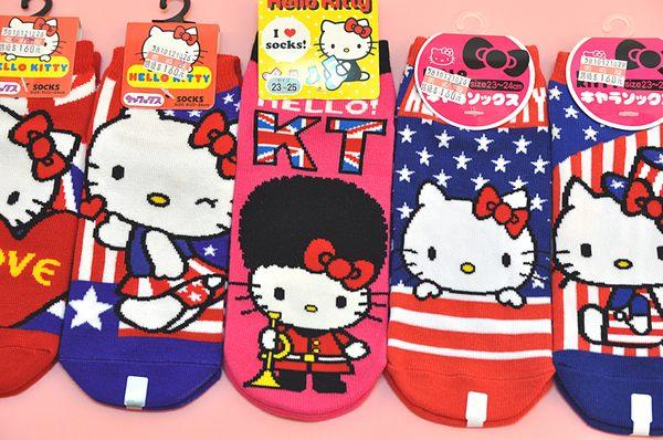 HELLO KITTY襪子英國倫敦奧運033277海渡