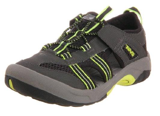 (特價) TEVA 大童 童鞋 水陸運動鞋美國第一品牌 1000327BLK OMNIUM 2 護趾水陸兩用運動[陽光樂活]