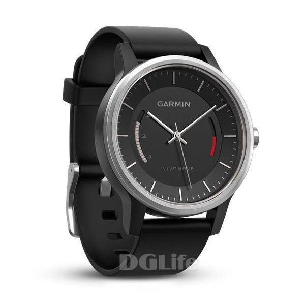 GARMIN Vivomove 智慧指針式錶 俐落黑