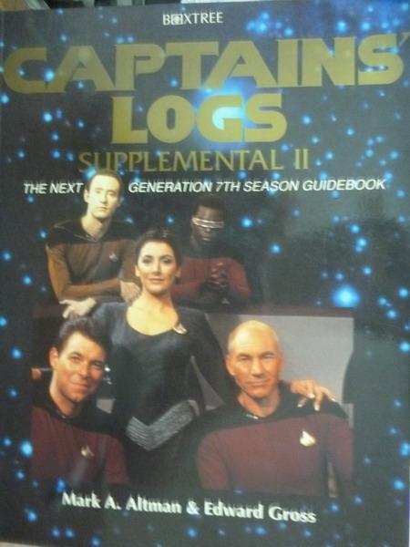 【書寶二手書T8/原文書_QDC】Captain's Log:Supplemental II