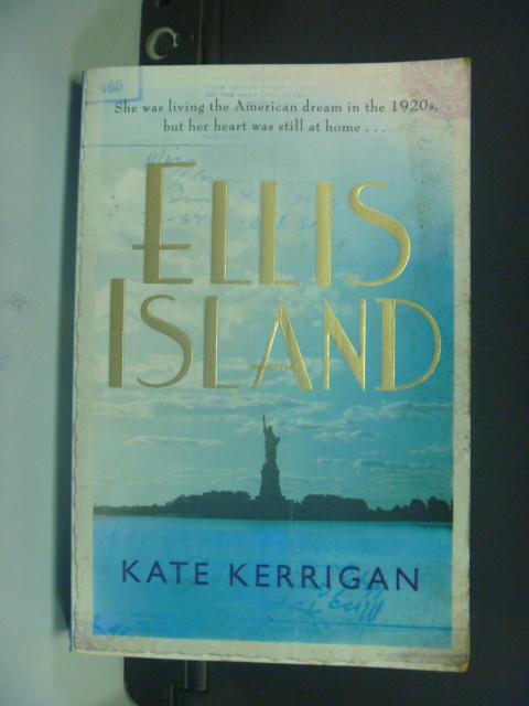 【書寶二手書T8/原文小說_KOM】Ellis Island_Kate Kerrigan